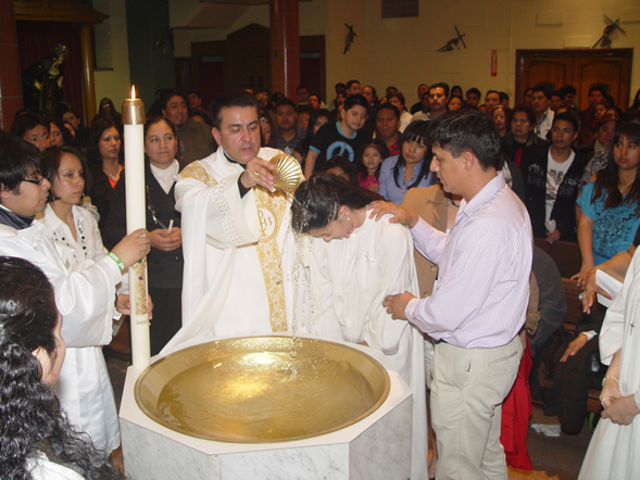 Baptism During the liturgy, he baptized three adults and confirmed 30 members of the ...