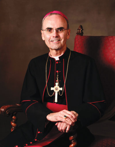 Bishop Paul R. Sanchez was born in Brooklyn and attended Cathedral Prep and College; Christ the King Seminary, Olean, N.Y.; and North American College, Rome.... ordained in St.Peter's Basilica, Vatican City, by Bishop James Hickey on Dec. 17, 1971... served as an assistant at Our Lady of Mercy, Forest Hills; St. Michael's, Flushing; and St. Sebastian, Woodside... was a member of the Diocesan Liturgical Commission... Pastor at St. Agatha, Sunset Park, and Our Lady of Mount Carmel, Astoria... Episcopal Vicar for Queens North... appointed Auxiliary Bishop on May 2, 2012, and ordained to episcopacy at Our Lady of Angels, Bay Ridge, July 11, 2012... currently is pastor at Our Lady Queen of Martyrs, Forest Hills.