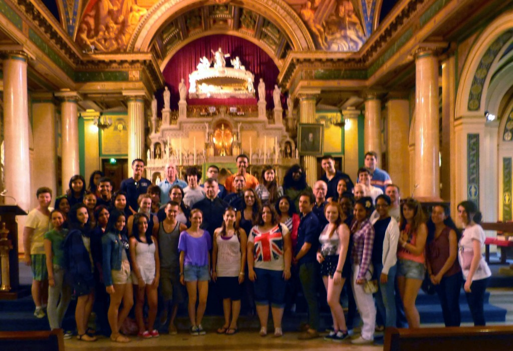 US high school retraces Vincentian roots in Paris