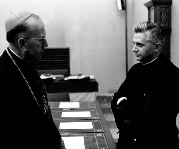 Image result for ratzinger vatican ii