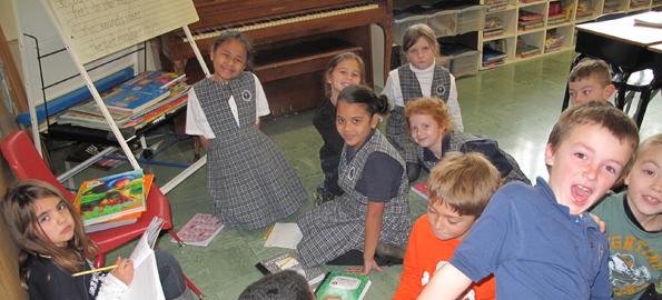 November Calendar Kids : School s back st rose of lima in rockaway