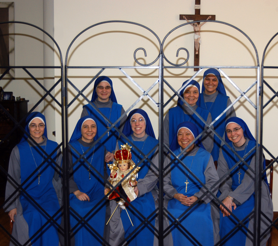 Servants of the Lord and the Virgin of Matará Sisters in Brooklyn Cloister.
