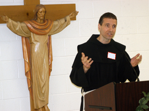 Brother Greg Cellini, O.S.F.
