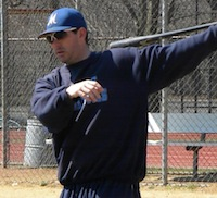 New Molloy baseball coach Brad Lyons (Photo by Jim Mancari)