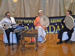 The dinner featured live Sufi music. (Photo by Jim Mancari)