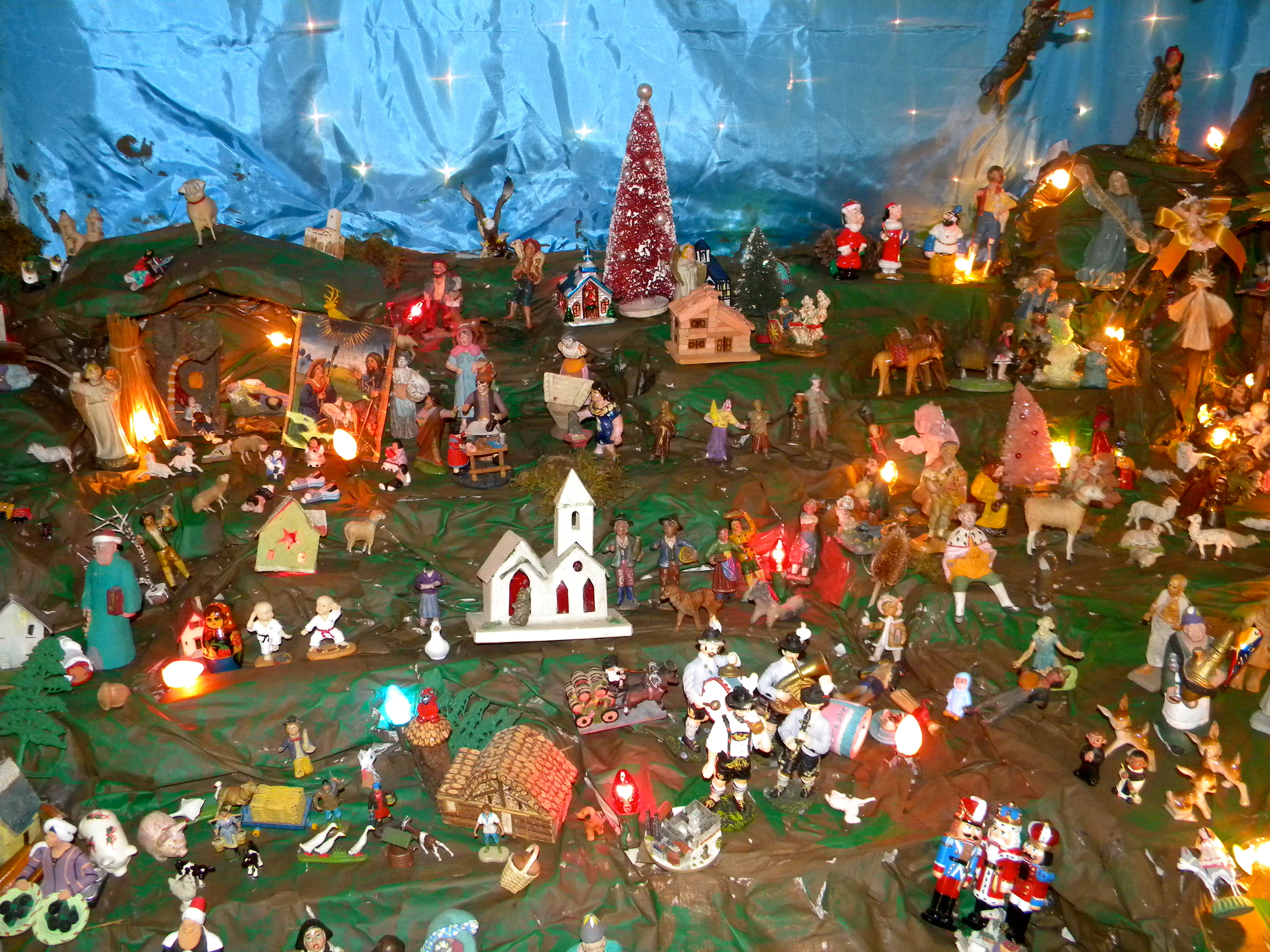 the debernardo family presepio is an annual christmas tradition every thanksgiving weekend former tablet - Italian Christmas Traditions