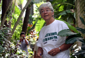 U.S. Sister Dorothy Stang is pictured in a 2004 file photo in Belem, northern Brazil.