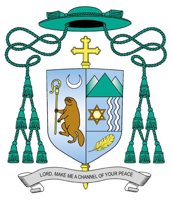 Bishop Scharfenberger's Coat of Arms