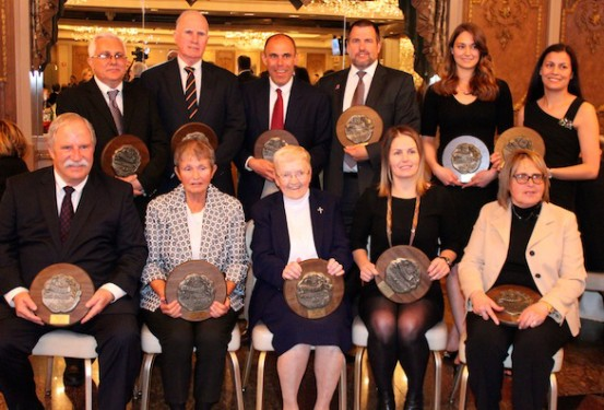 The GCHSAA Hall of Fame Class of 2014