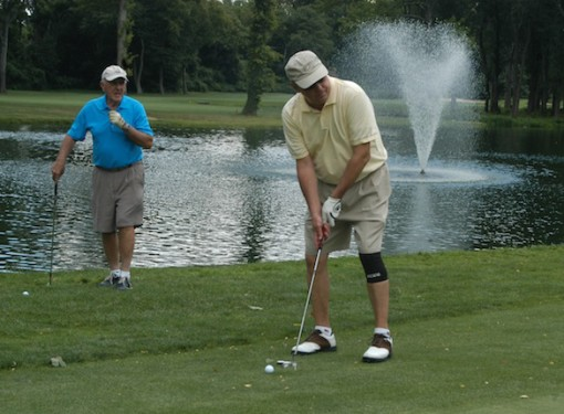 Golf enthusiasts enjoyed a competitive round on the links at the annual Bishop DiMarzio Golf Classic, hosted by the DeSales Media Group on Aug. 14 at North Hills Country Club, Manhasset, L.I. (Photo by Marie Elena Giossi)
