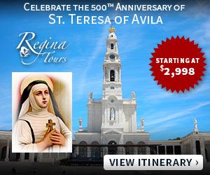 Regina Tours August - Jan 2015
