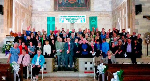 Alumni Return To Holy Innocents