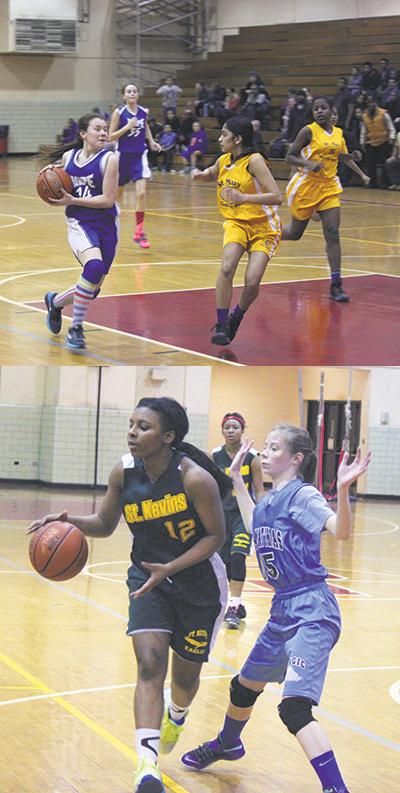 CYO girls basketball February 28 2015