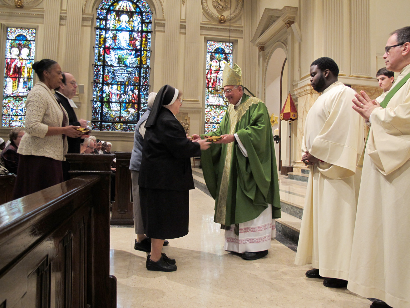 Bishop DiMarzio at World Day for Consecrated Life