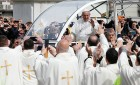 Pope Francis Visits Poor in Naples