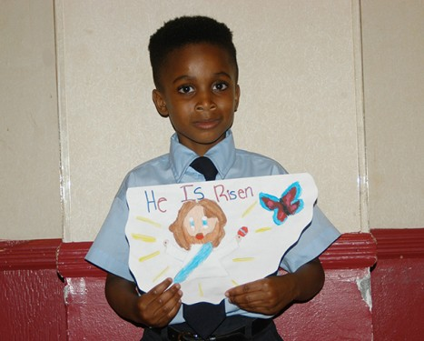 First Grade – Ricardo John, Mary Queen of Heaven School, Old Mill Basin