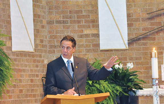 Cuomo Rallies Support Of Education Tax Credit