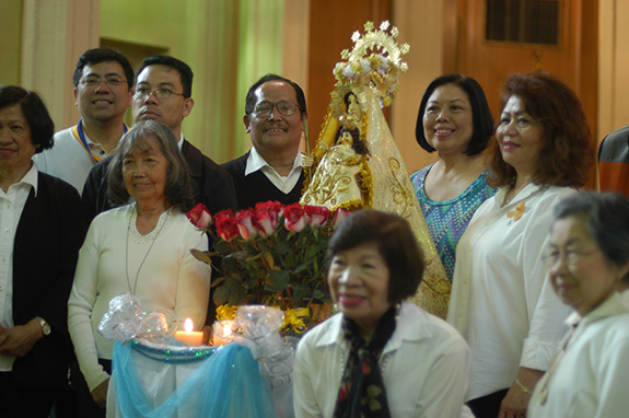 Filipinos in Long Island City Honor Our Lady of Manaoag