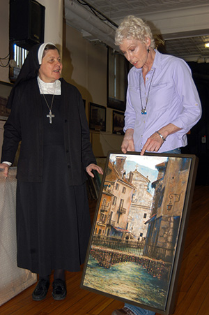 Visitation Sisters Host Artworks