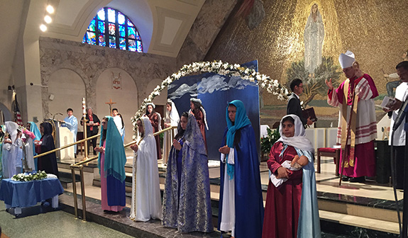 Photo courtesy Our Lady of Fatima School