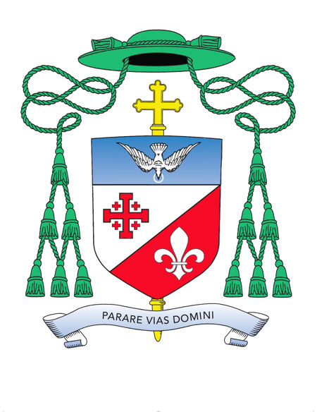 Auxiliary Bishop Witold Mroziewski's Coat of Arms
