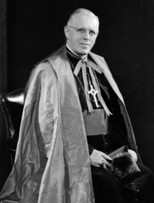 Bishop John J. Boardman, a native of Brooklyn, attended St. John's College and Seminary... ordained May 21, 1921... served at St. Thomas Aquinas, Flatlands; St. Mary Mother of Jesus, Bensonhurst; St. Anne's, Brentwood; St. Catherine of Genoa, Brooklyn; and was pastor of Holy Name, Park Slope, 1944-59, and O.L. of Angels, Bay Ridge, 1959-70...  became the fourth auxiliary bishop on May 29, 1952, marking the first time that the diocese had two auxiliary bishops at the same time... died July 17, 1978 and is buried in the crypt at Immaculate Conception Center, Douglaston.