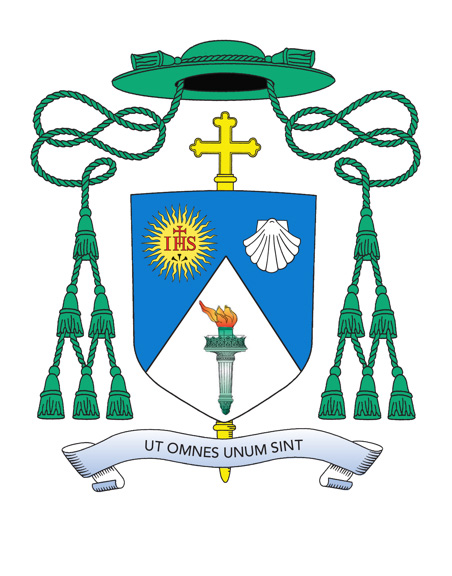 Auxiliary Bishop James Massa's Coat of Arms