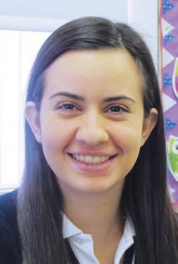 Doriana Marando, junior Fontbonne Hall Academy