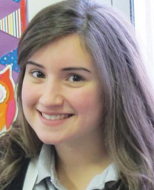 Victoria Longo, senior Fontbonne Hall Academy