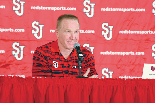 Five-time NBA All-Star and Naismith Memorial Basketball Hall of Famer Chris Mullin is the new head coach of the St. John University Red Storm.
