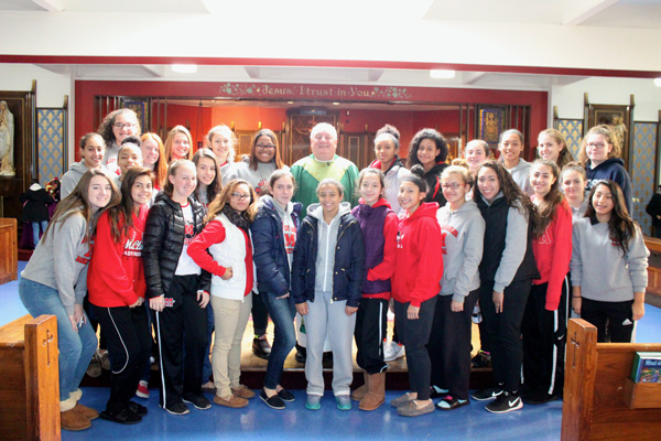 Msgr. McClancy M.H.S. Volleyball Teams