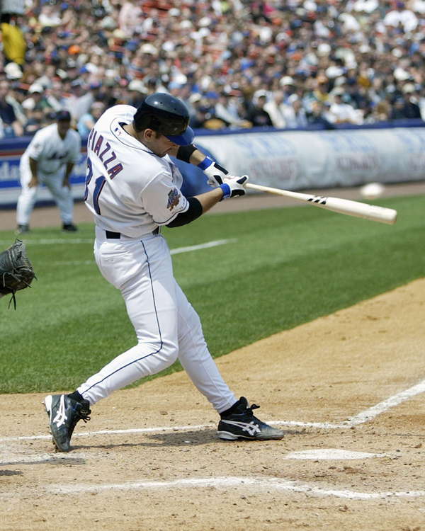 New York Mets catcher Mike Piazza was elected to the National Baseball Hall of Fame on Jan. 6. Photo courtesy New York Mets
