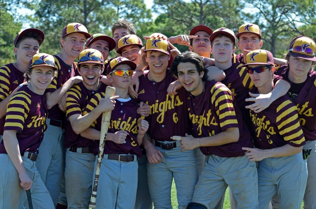 Loyola School baseball team photo