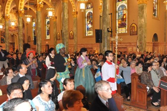 offertory-procession