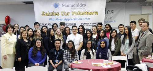 Maimonides Honors Volunteers - The Tablet