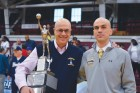 Jack Alesi, left, recently retired as head varsity basketball coach at Xaverian H.S. He is pictured with his son and assistant coach Chris Alesi.