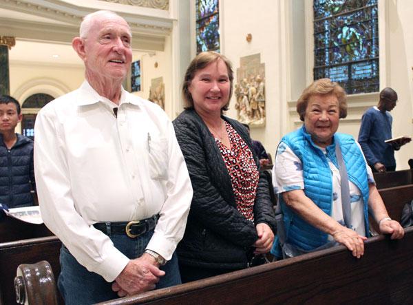 Robert, Kathleen and Alice Hennessy