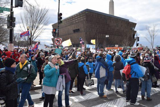 March Crowds