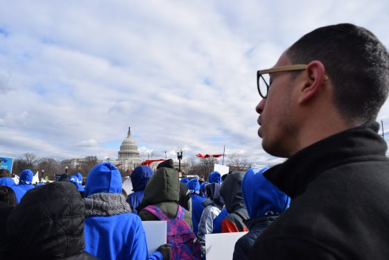 Reciting Divine Mercy_Cathedral Seminary_Diocese of Brooklyn_March for Life 20172