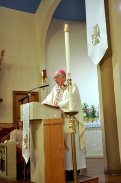 Bishop preaches