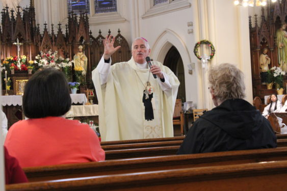 Teidemann preaching