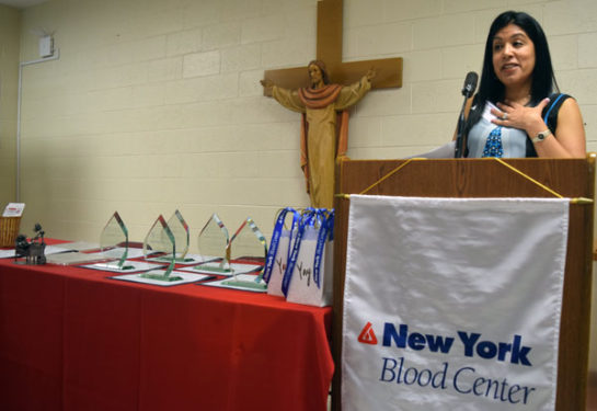 Radhika Sawh speaks about her need for blood transfusions.