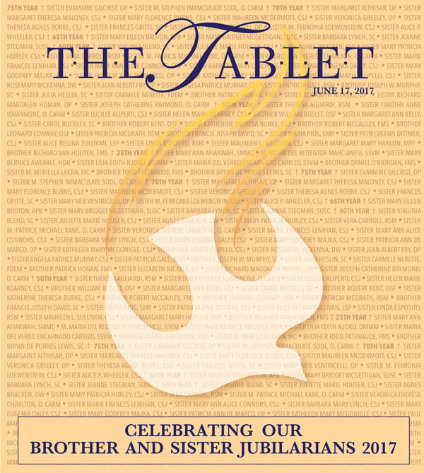 Brother And Sister Jubilarians 2017 The Tablet
