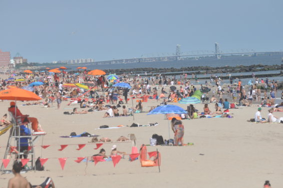 Millions flock to the beach every year at Coney Island.
