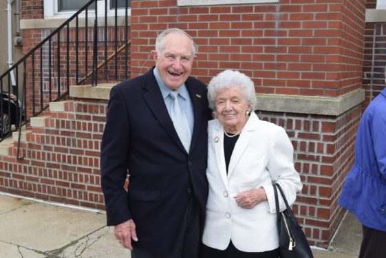 Patricia Fowler and her husband Bill