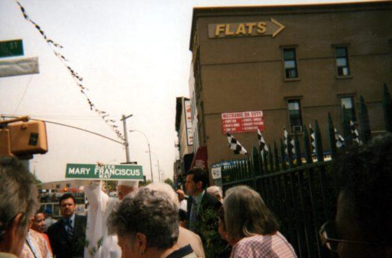 Sr. Mary Francicus Way Street Dedication Ceremony.