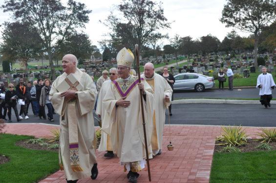 arriving at Mausoleum