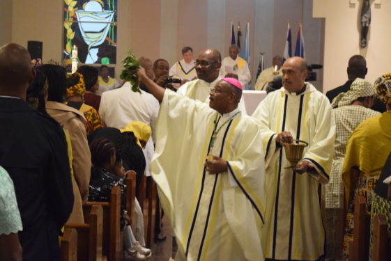bishop blesses