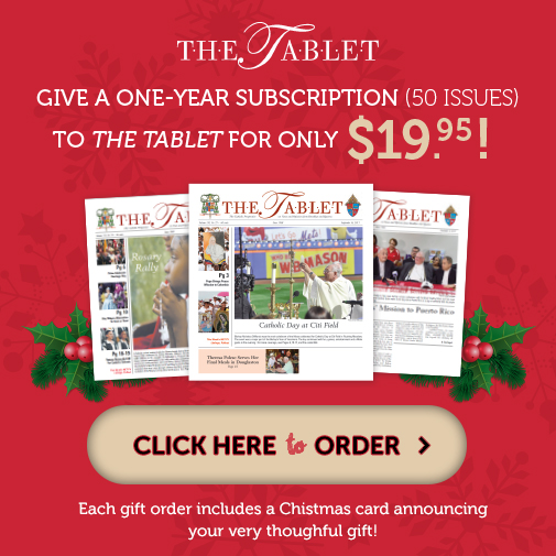 Give a one-year subscription to The Talbet