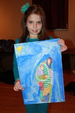 Chloe Lirarakis. Third Grade